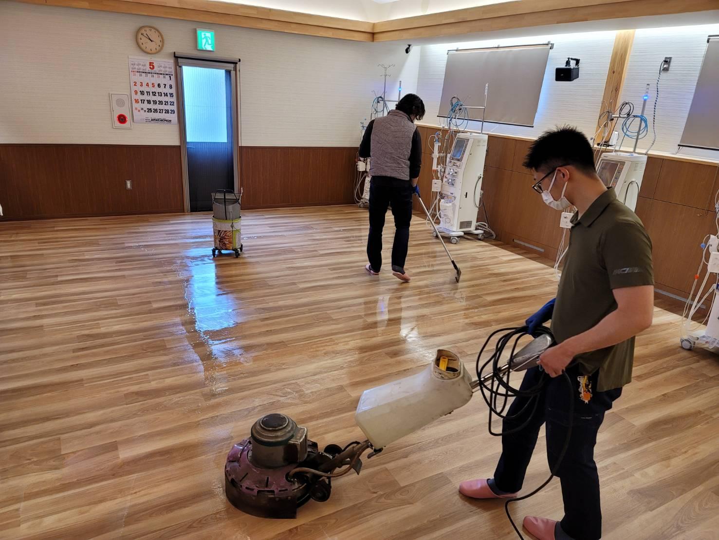 クリニック清掃2021.5-3